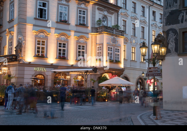 Prague mala strana food stock photos prague mala strana for Hotel mala strana prague
