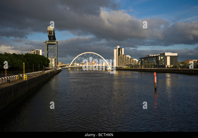 Hi from Scotland  Clyde-arch-and-clyde-port-glasgow-scotland-united-kingdom-europe-bcthkn