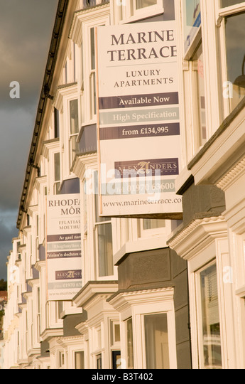 Apartments for sale uk stock photos apartments for sale for 50 marine terrace