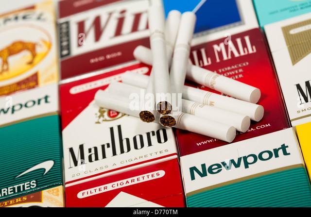 Blue tip cigarettes Marlboro North Carolina