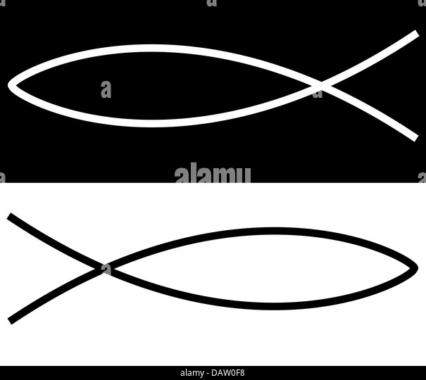 Ichthus stock photos ichthus stock images alamy for Christian fish sign