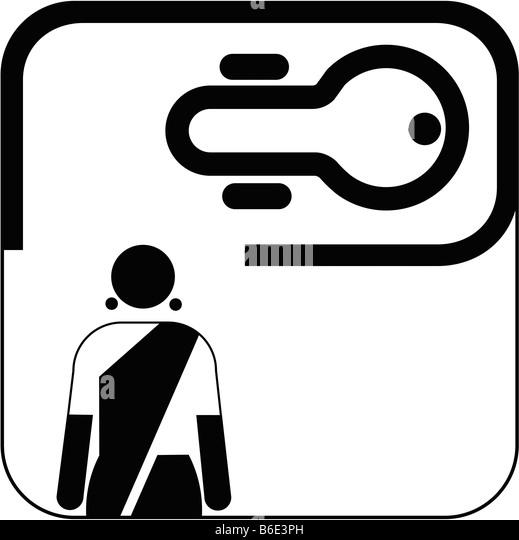 Female toilet symbol against white background   Stock Image. Ladies Toilet Sign Stock Photos   Ladies Toilet Sign Stock Images