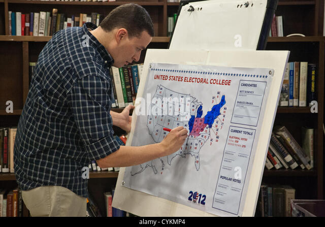 Elections Map Stock Photos Elections Map Stock Images Alamy - Us election real time map