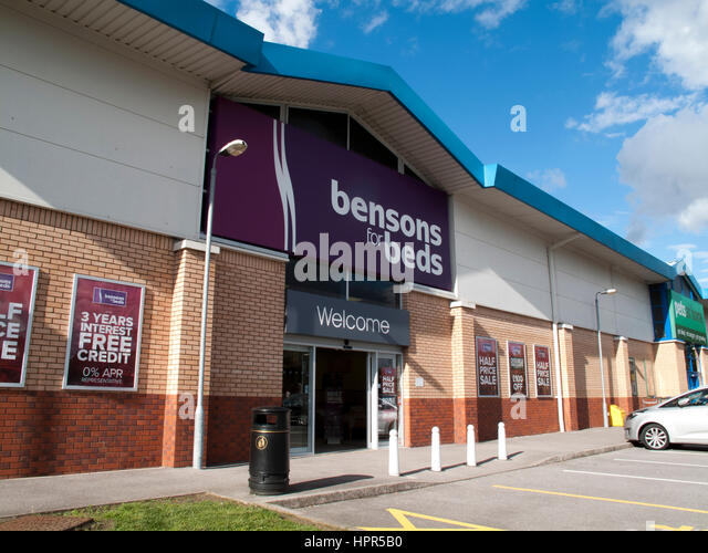 Bensons for Beds  retailer specialising in beds  mattresses and bedroom  furniture   Stock Image. Bensons For Beds Stock Photos   Bensons For Beds Stock Images   Alamy
