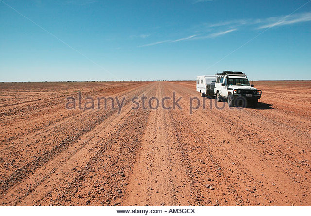 Strzelecki Australia  city pictures gallery : Strzelecki Desert South Australia Stock Image