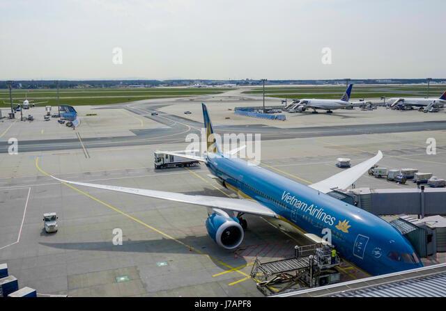 Frankfurt terminal stock photos frankfurt terminal stock - Vietnam airlines kuala lumpur office ...