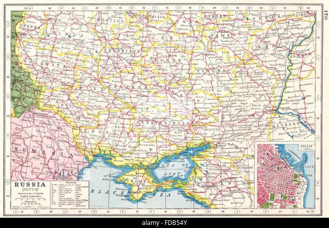 Map Odessa Ukraine Stock Photos Map Odessa Ukraine Stock Images