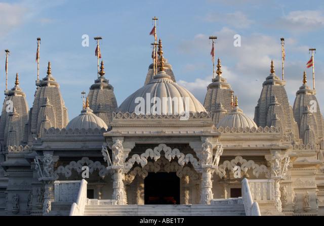 Hindu Architecture Uk Stock Photos & Hindu Architecture Uk ...
