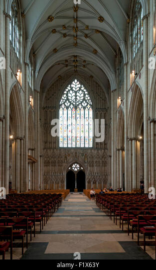 Nave vaulting stock photos nave vaulting stock images for West window york minster