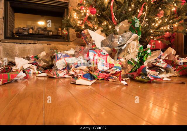 Opened Christmas Presents Stock Photos & Opened Christmas Presents ...