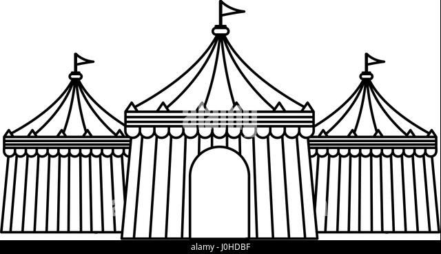 circus tent icon - Stock Image  sc 1 st  Alamy & Circus Tent Black and White Stock Photos u0026 Images - Alamy