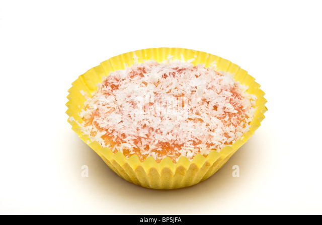 how to make jam and coconut sponge
