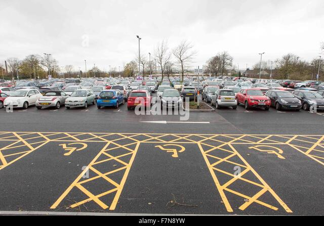 Disabled Parking Spaces Stock Photos Amp Disabled Parking
