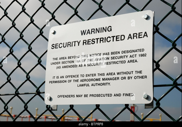 Restricted Area Sign Stock Photos Amp Restricted Area Sign