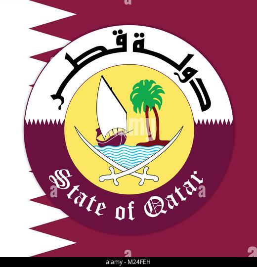 state of qatar logo pdf