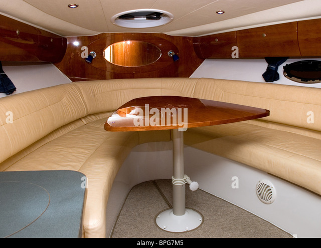 Interior Of A Living Room Small Luxury Motoro Boat