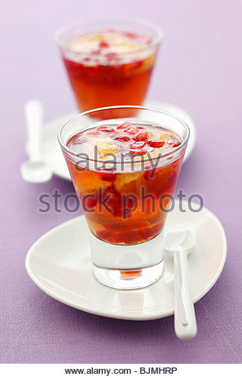 Slices Pomegranate Stock Photos & Slices Pomegranate Stock Images ...