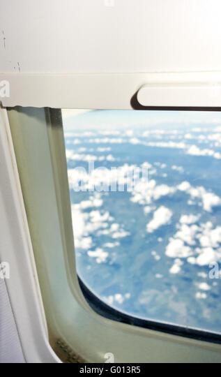 Airplane Window Exterior