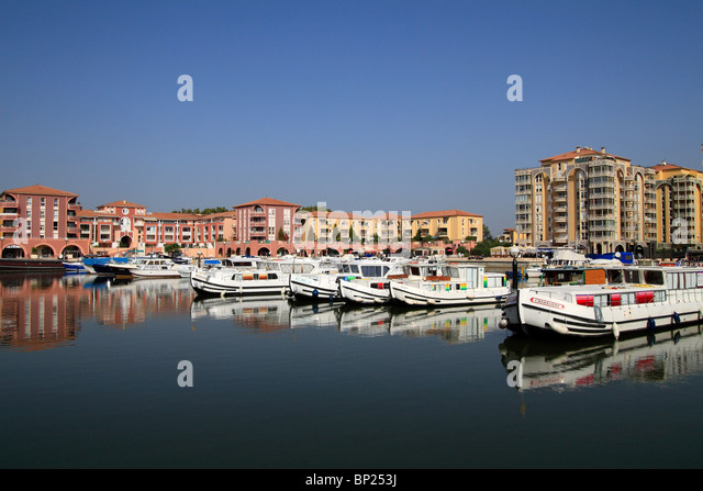 harbour of lattes stock photos harbour of lattes stock images alamy. Black Bedroom Furniture Sets. Home Design Ideas