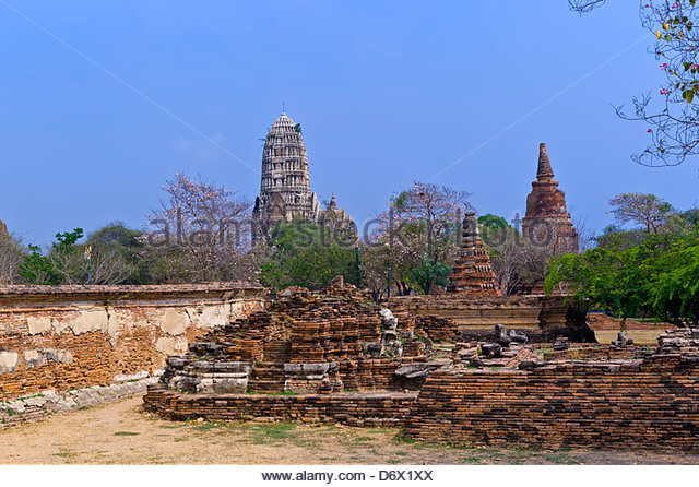 Wat Mahathat Bangkok Temple Stock Photos & Wat Mahathat ...