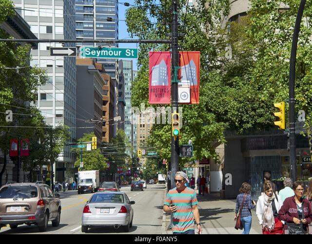 Parkade seymour street