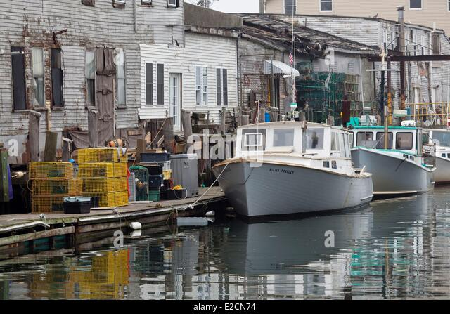 Old port maine stock photos old port maine stock images for Portland maine fishing