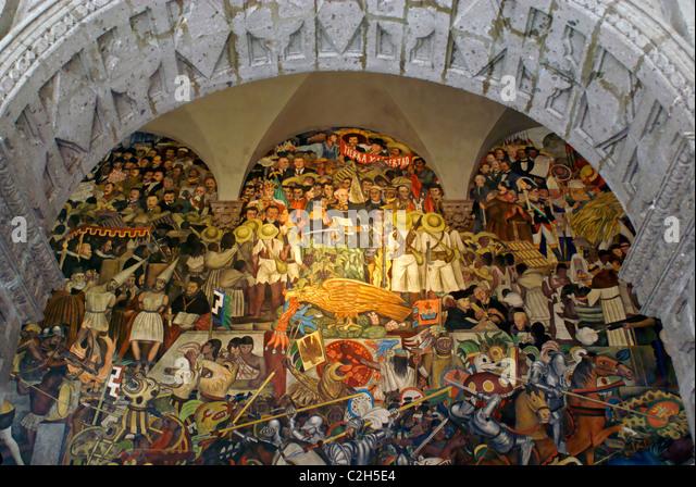 diego rivera mural mexico stock photos diego rivera mural mexico stock images alamy
