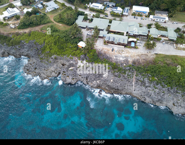 Indian ocean island aerial stock photos indian ocean for Flying fish cove christmas island