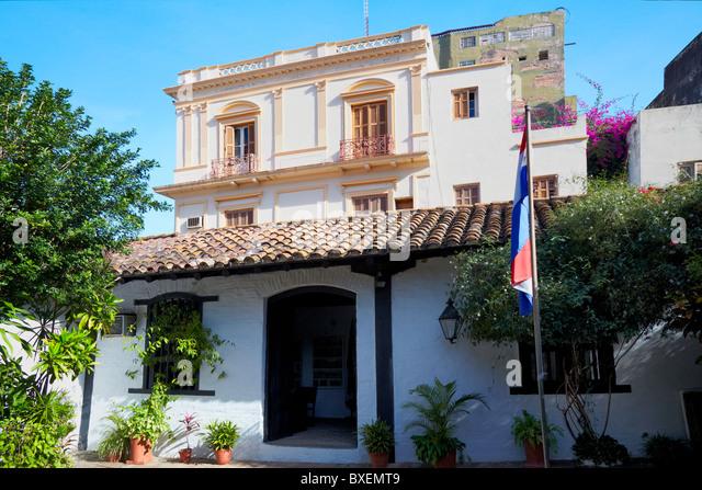 Casa museum stock photos casa museum stock images alamy - Casa en paraguay ...