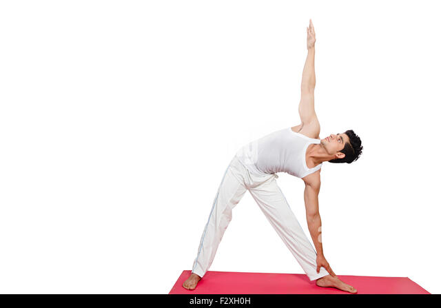 Floor routines stock photos floor routines stock images for Floor yoga stretches