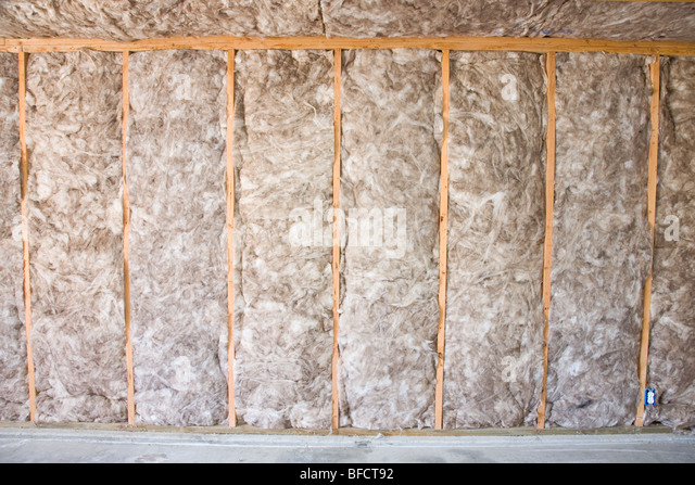Batts stock photos batts stock images alamy for Eco friendly house insulation