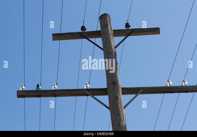 Glass insulators stock photos glass insulators stock for Glass telephone pole insulators