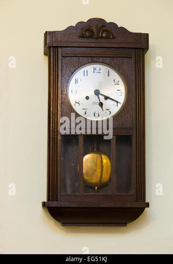 Wooden Wall Clock Stock Photos Wooden Wall Clock Stock Images