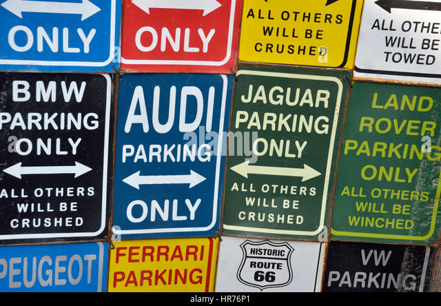 Parking Signs Stock Photos Parking Signs Stock Images Alamy - Bmw parking only signs