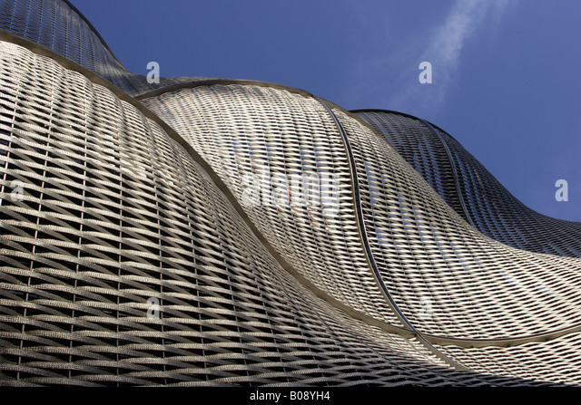 Waves Architectural Cladding Steel Weave Stock Photos Waves - Architectural cladding