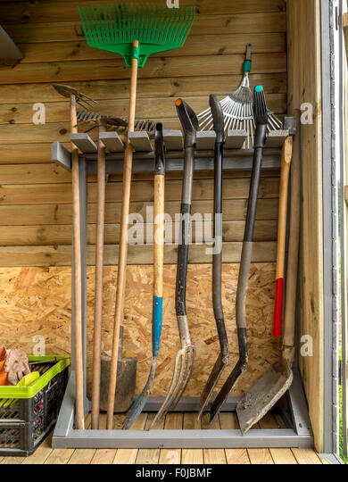 shed garden tools stock photos shed garden tools stock images - Garden Sheds With A Difference