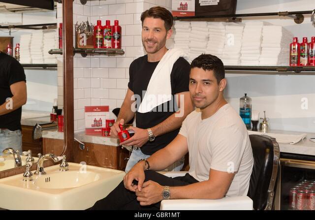 Barber Shop Norman Ok : New York, NY, USA. 7th July, 2016. Ben Thigpen, Wilmer Valderrama at a ...