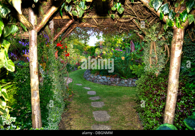 Garden Archway Stock Photos Garden Archway Stock Images Alamy