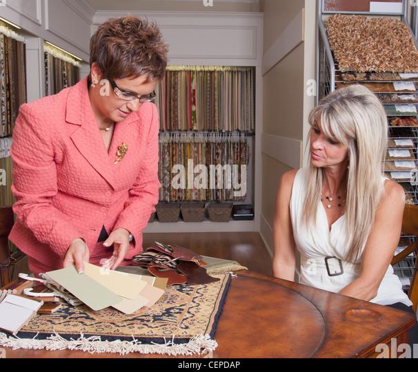 Retail canada salesperson stock photos retail canada for At home interior design consultants