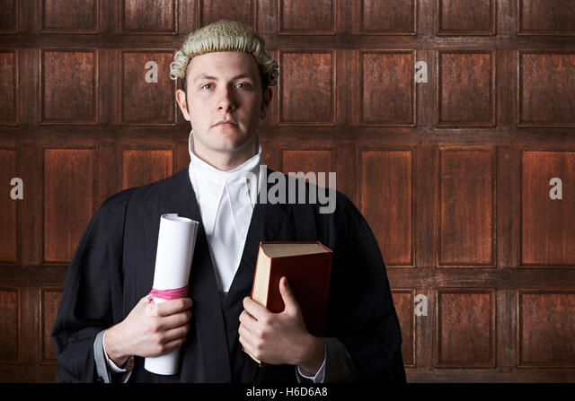 Black lawyer in court