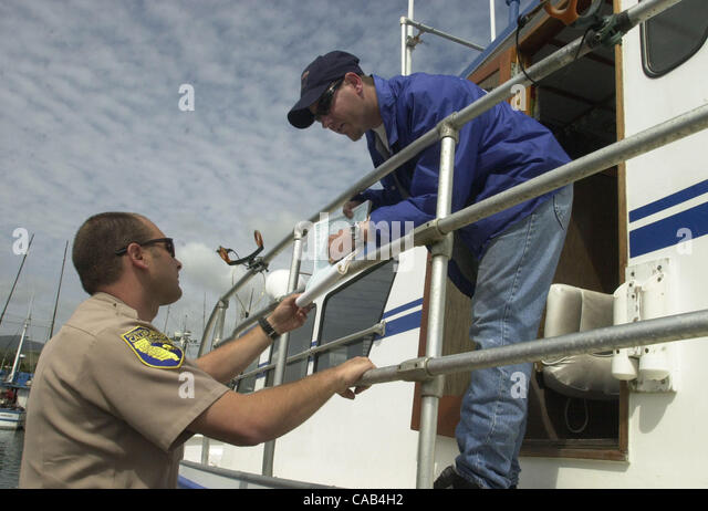 Fish and game warden stock photos fish and game warden for Calif fish and game