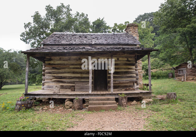 Wood Cabin Forest Stock Photos Wood Cabin Forest Stock