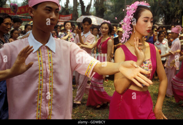 jinghong girls 7 days lijiang, lugu lake and shangri-la classic tour by travel around yunnan  you will dance and sing with mosuo boys and girls around a big  jinghong and .