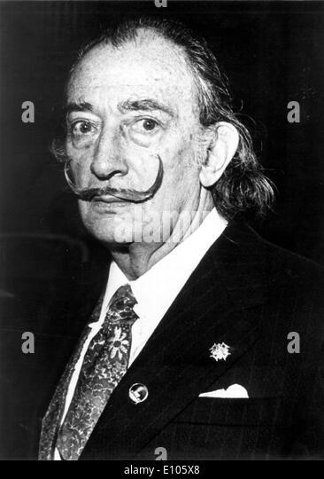 Salvador Dali Portrait Stock Photos & Salvador Dali Portrait Stock ...