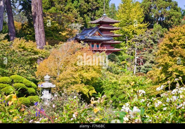 San Francisco Japanese Garden Stock Photos San Francisco Japanese Garden Stock Images Alamy