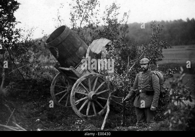 western front artillery stock photos western front. Black Bedroom Furniture Sets. Home Design Ideas