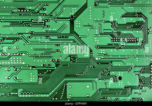 Circuit board blueprint stock photos circuit board blueprint printed circuit board for design stock image malvernweather Images