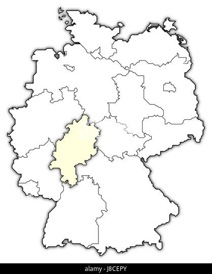 Map Of Germany Stock Photos Map Of Germany Stock Images Alamy - Germany map cartoon