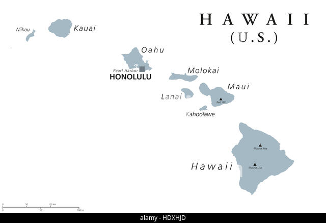 Honolulu Map Stock Photos Amp Honolulu Map Stock Images  Alamy