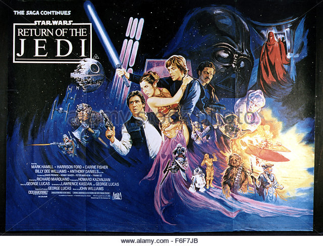 Star Wars Episode Vi Return Of The Jedi Video Release Poster Pictures ...
